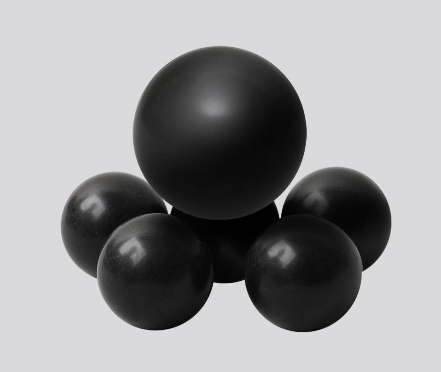 POM POM Solid Plastic Ball