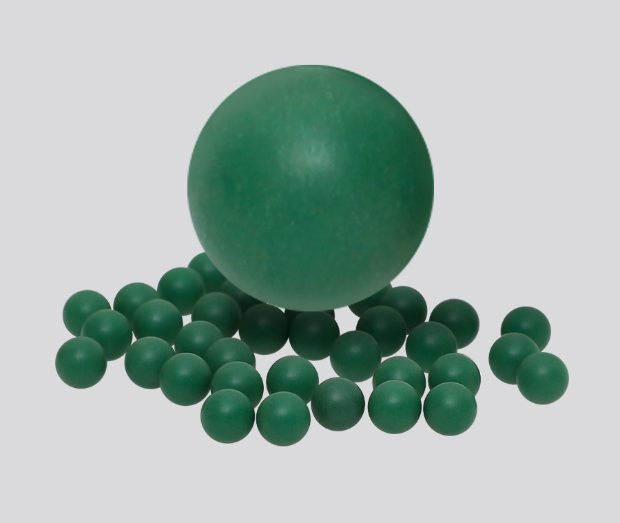 Colored Low Friction PP Solid Plastic Balls